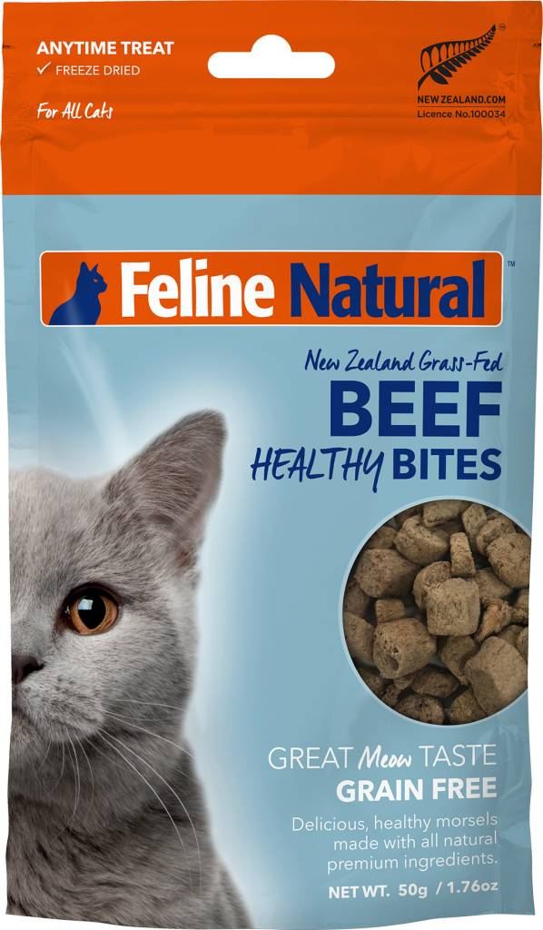 K9 Natural Feline Natural- Beef Healthy Bite Treats