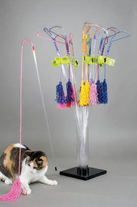 PuRRfect PURRfect-Curly Wand Cat Toy