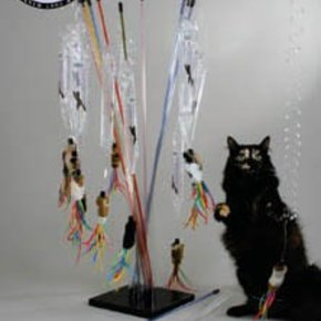 PuRRfect-Go-Fur-it Wand Cat Toy