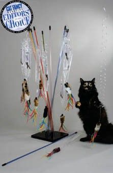 PuRRfect PuRRfect-Go-Fur-it Wand Cat Toy