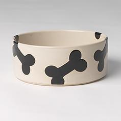 Petrageous Designs Petrageous-Slicker Bones Nat/Blk 6 cups