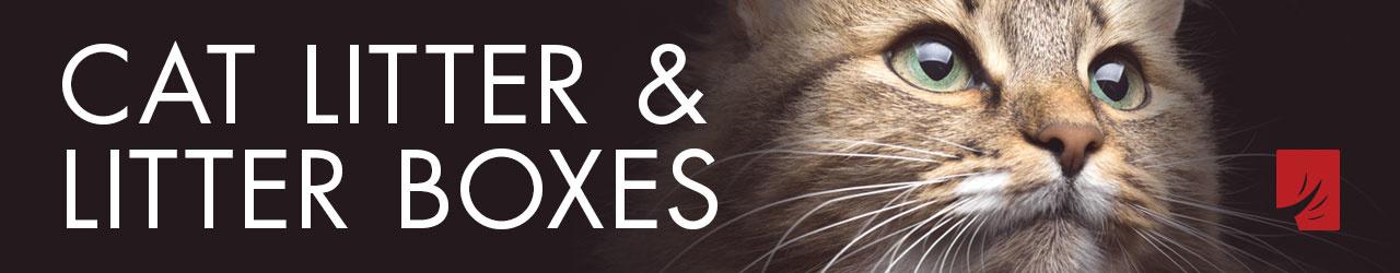 Cat Litter & Litter Boxes
