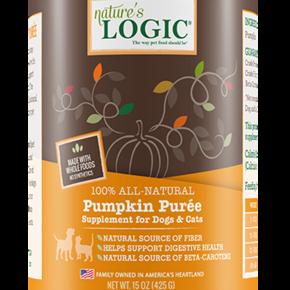 Nature's Logic-Pumpkin Puree