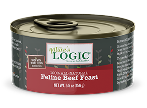Nature's Logic Nature's Logic-Canned Cat Food 5.5 oz Beef