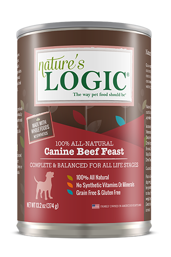 Nature's Logic Nature's Logic-Canned Dog Food 13.2 oz Beef