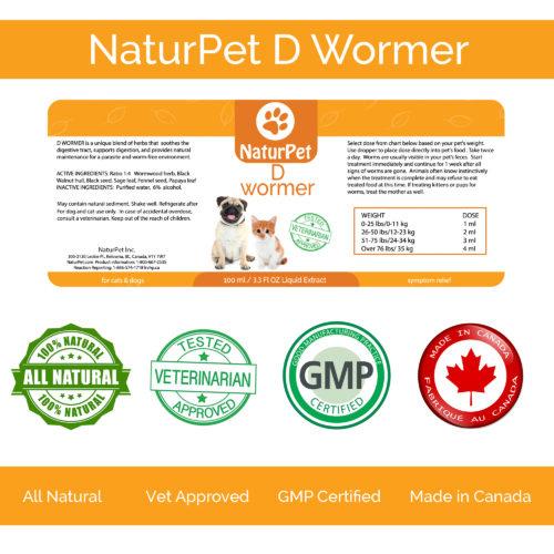 NaturPet NaturPet-Dewormer 100ml