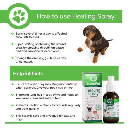 NaturPet NaturPet-Healing Spray 100ml