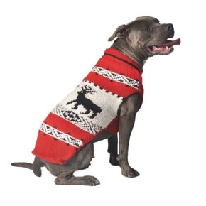 Chilly Dog Sweaters - Red Reindeer