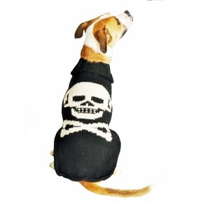 Chilly Dog Sweaters Chilly Dog Sweaters - Black Skull