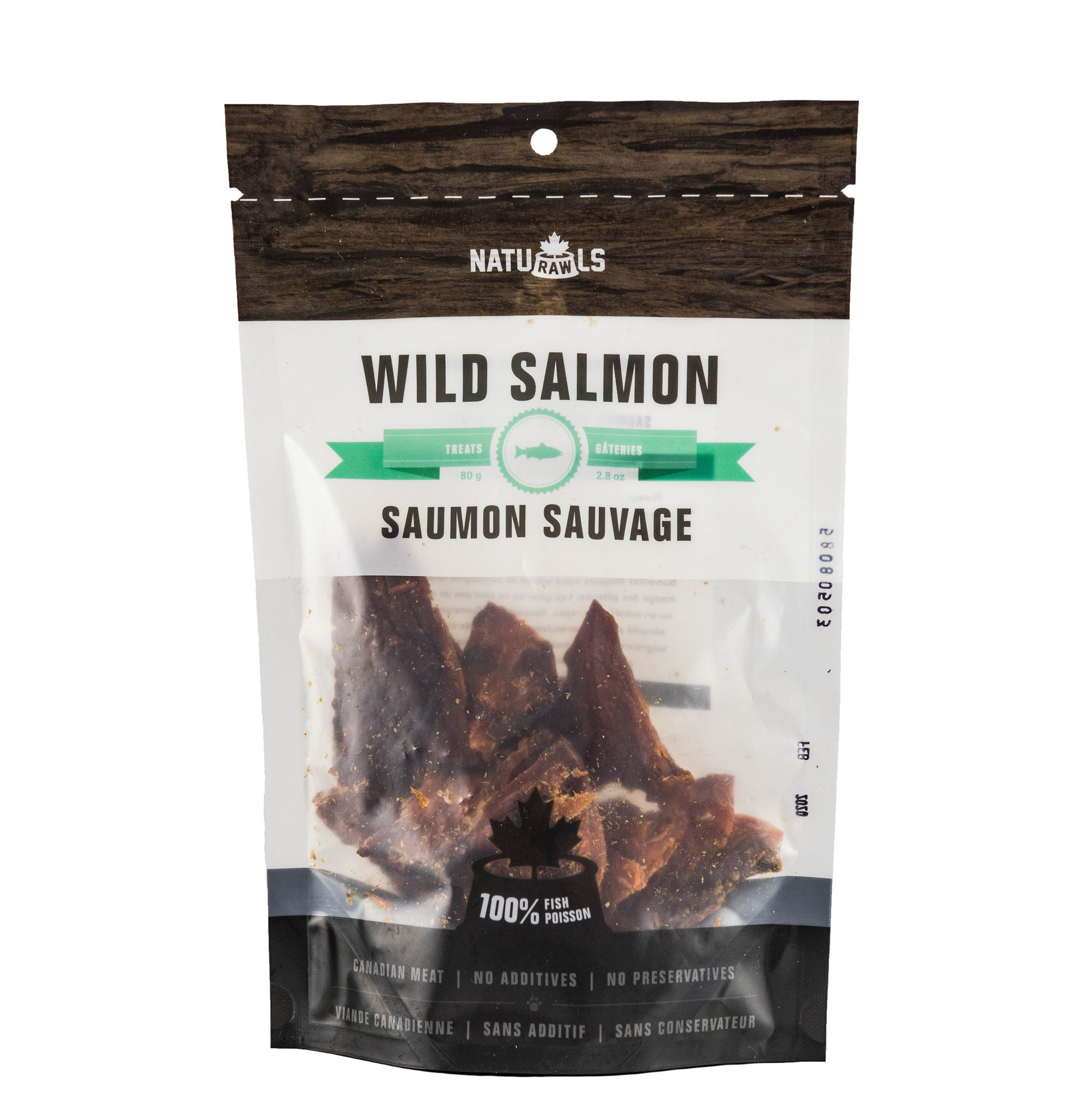 NatuRawls NatuRawls-Wild Salmon 80g