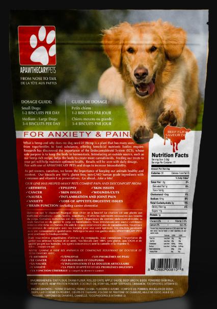 Apawthecary Pets Apawthecary-Hemp Oil Treats