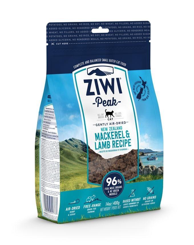 Ziwipeak Ziwipeak - Air Dried Cat Food Mackerel & Lamb