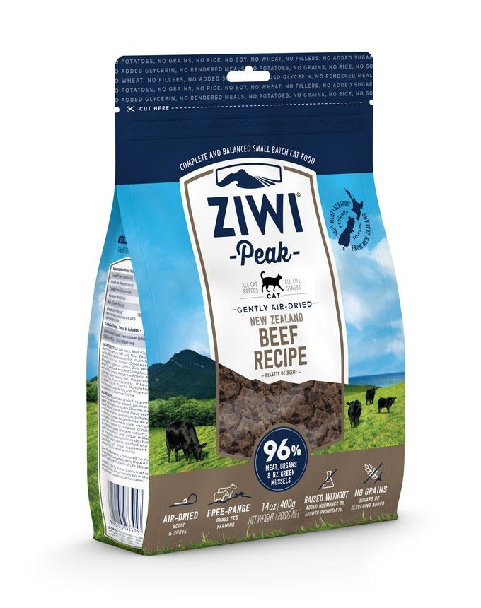 Ziwipeak Ziwipeak - Air Dried Cat Food Beef