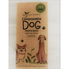 Leaf Enviromental Products Leaf - Compostable Poop Bags 120