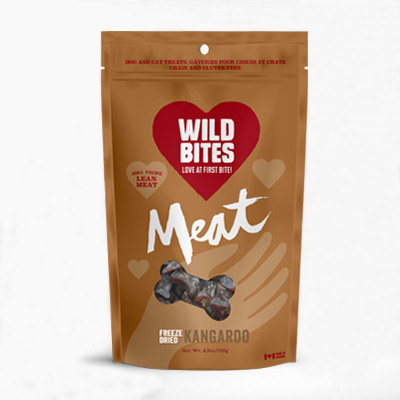 Wild Bites Wild Bites- Freeze Dried MEAT- Kangaroo