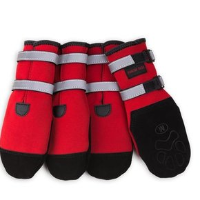 Pawsh Pads Boots- RED