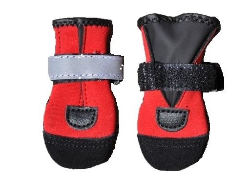 Pawsh Pads Pawsh Pads Boots- RED