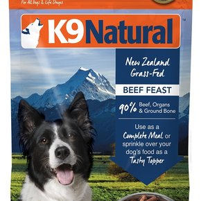 K9 Natural - Freeze Dried Dog Food Beef