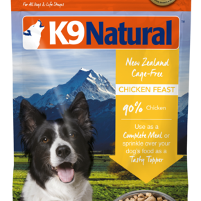 K9 Natural - Freeze Dried Dog Food Chicken