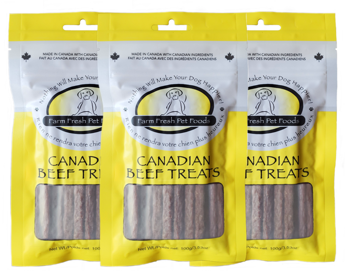 Farm Fresh Pet Products Farm Fresh - Beef Treats 100 grams
