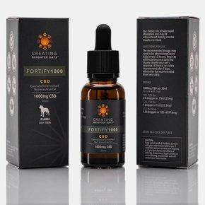 Creating Brighter Days Creating Brighter Days - Fortify 1000 CBD Oil 30ml Bottle