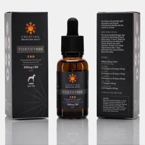 Creating Brighter Days Creating Brighter Days - Fortify 500 CBD Oil 30ml Bottle
