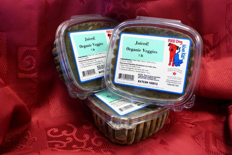 Red Dog Blue Kat Red Dog Blue Kat - Organic Veggies 1lb Package