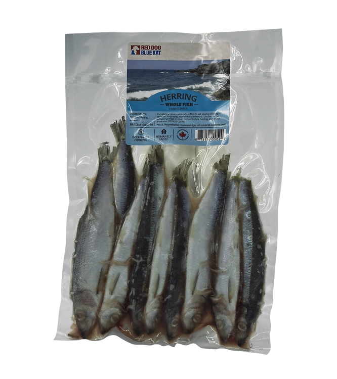 Red Dog Blue Kat Red Dog Blue Kat - Whole Herring 1lb Package