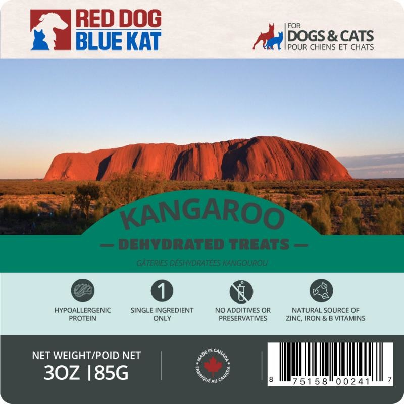 Red Dog Blue Kat Red Dog Blue Kat  - Wild Kangaroo Dehydrated Treats 85g