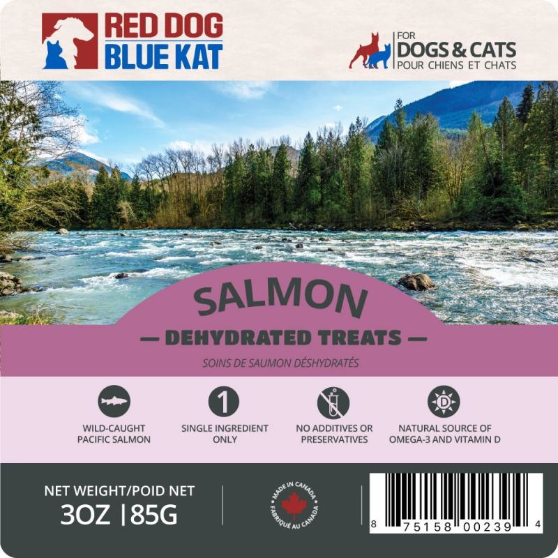 Red Dog Blue Kat Red Dog Blue Kat  - Wild Salmon Dehydrated Treats 85g