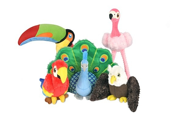 P.L.A.Y. PLAY - Fetching Flock Parrot