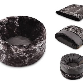 PLAY - Snuggle Bed Charcoal Grey