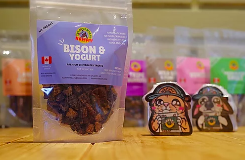 Nammy Treats Nammy Treats - Bison & Yogurt Training Treats 90g