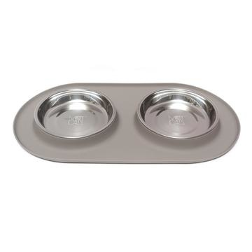 Messy Mutts Messy Cats- Silicone Double Feeder