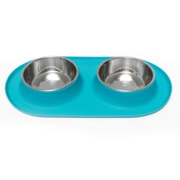 Messy Mutts Messy Mutts- Silicone Double Feeder Medium