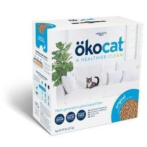 OkoCat- Natural Wood Clumping Litter 13.2lb