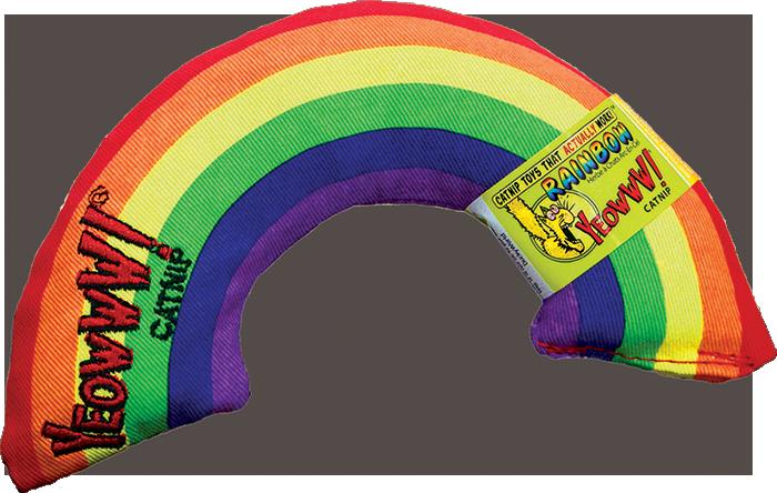 YEOWWW YEOWWW - Rainbow Catnip Toy