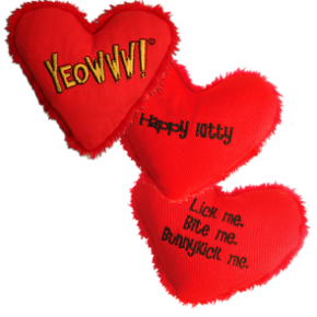 "YEOWWW - Heart Attack ""Happy Kitty"""