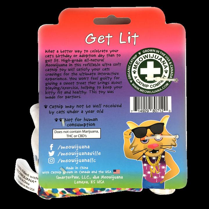 Meowijuana Meowijuana - Get Lit Cake Refillable Catnip Toy