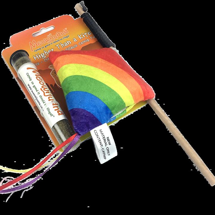 Meowijuana Meowijuana - Get High Kite Refillable Catnip Toy