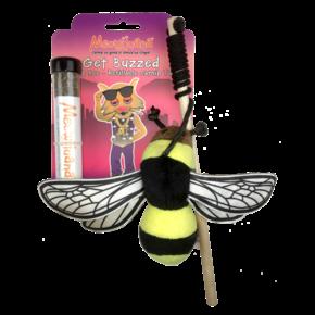 Meowijuana Meowijuana - Get Buzzed Bee Refillable Catnip Toy