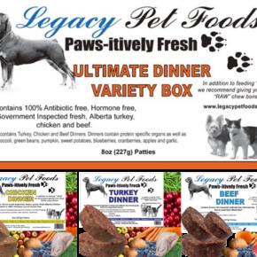 Legacy-Ultimate Variety 25lb Bulk Case (1/2lb patties)
