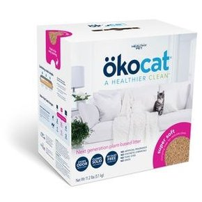 OkoCat OkoCat- Natural Wood Soft Step Clumping Litter 11.2lb