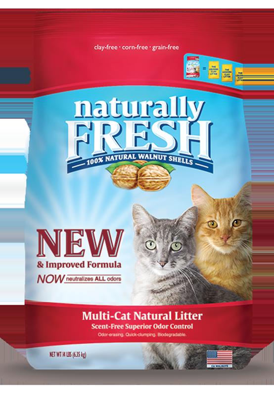 Naturally Fresh Naturally Fresh - Quick Clumping Litter Multi-Cat