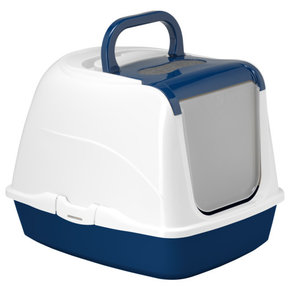 Moderna Moderna-Flip Cat Litter Box Jumbo Blue