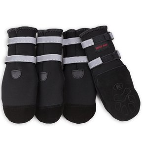 Pawsh Pads- Dog Boots BLACK