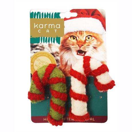Dharma Dog Karma Cat Karma Cat - Candy Cane 2 Pack Cat Toys
