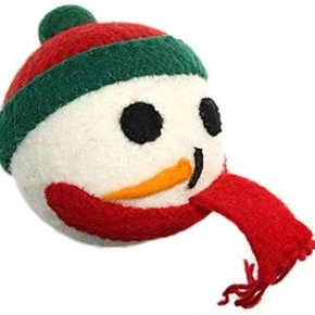 RC Pet- Holiday Wooly Frosty Toy