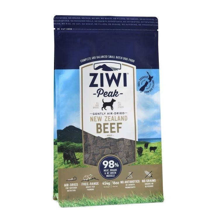 Ziwipeak Ziwipeak - Air Dried Dog Food Beef