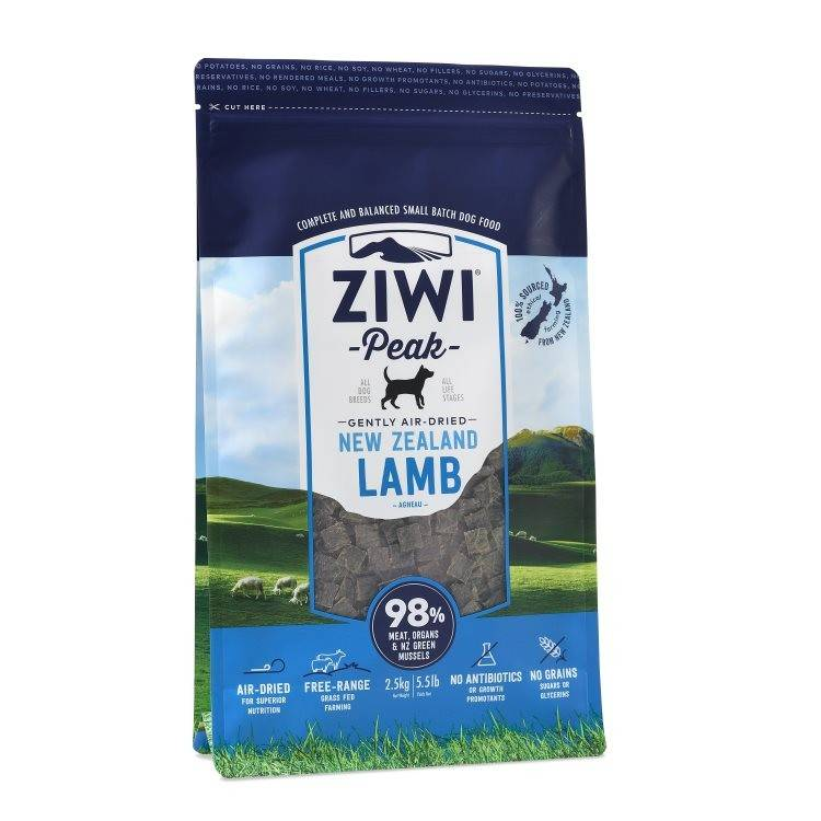Ziwipeak Ziwipeak - Air Dried Dog Food Lamb